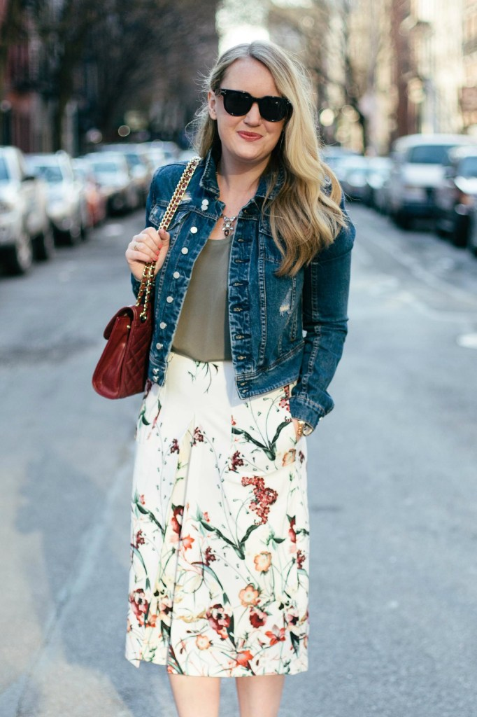 Floral Midi I wit & whimsy