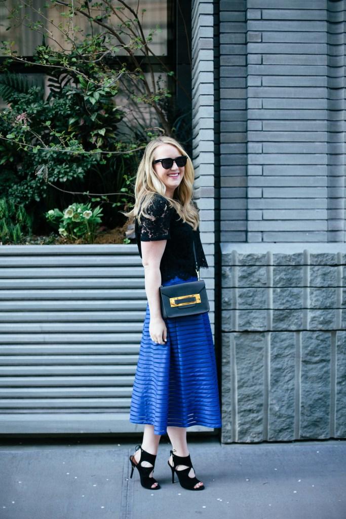 Meghan Donovan I wit & whimsy midi skirt