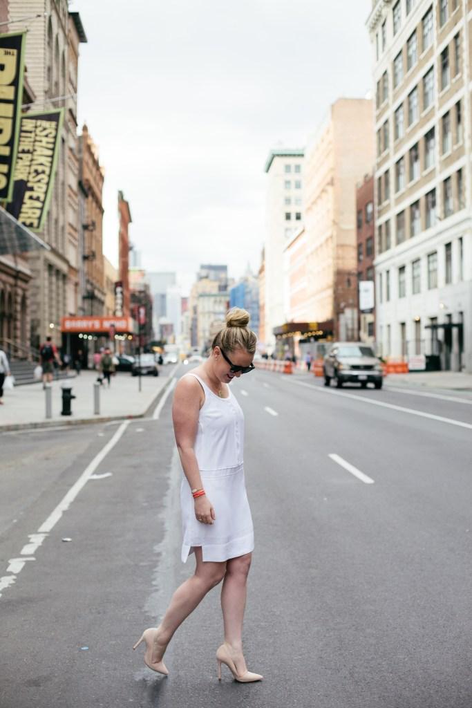 wit & whimsy I meghan donovan I little white dress