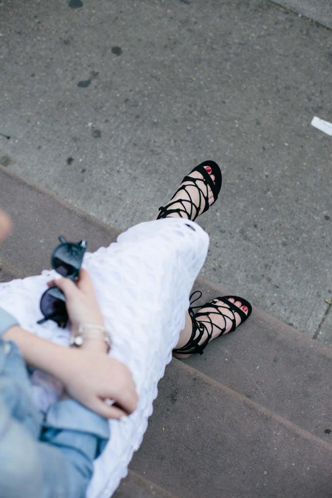 wit & whimsy I schutz erlina sandal