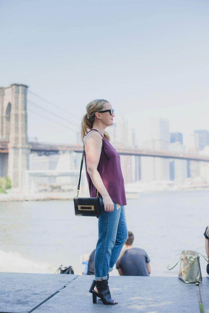 boyfriend jeans in brooklyn I wit & whimsy