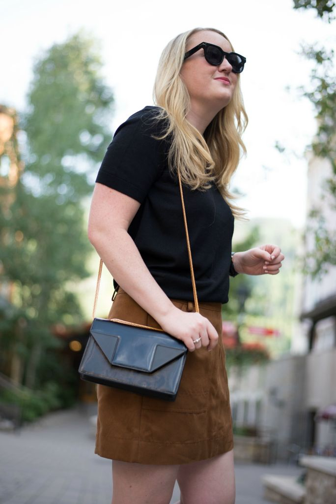 Everlane Sweater I Nordstrom Skirt I wit & whimsy