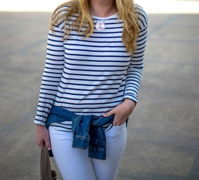 Striped Tee I wit & whimsy