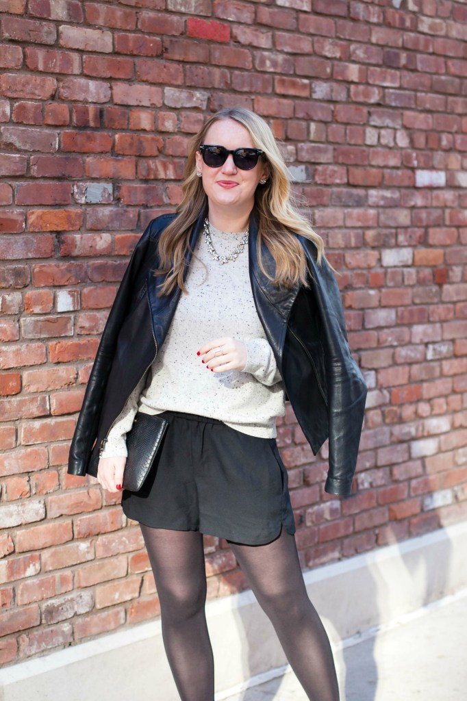 Madewell Silk Shorts I wit & whimsy