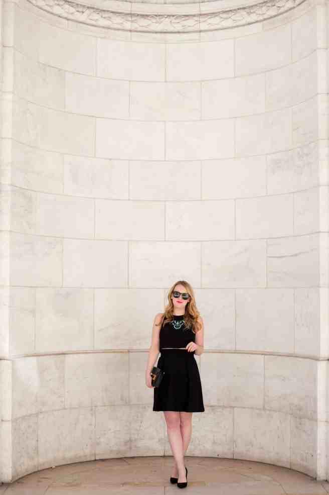 @meghandono two piece black dress