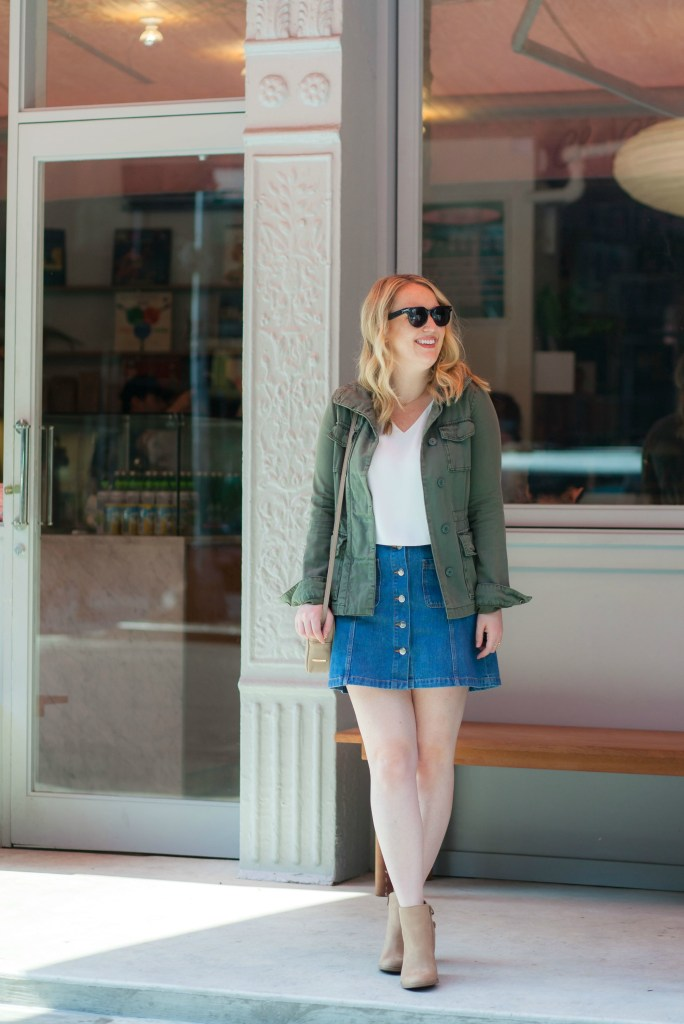 Transitional Fall Dressing