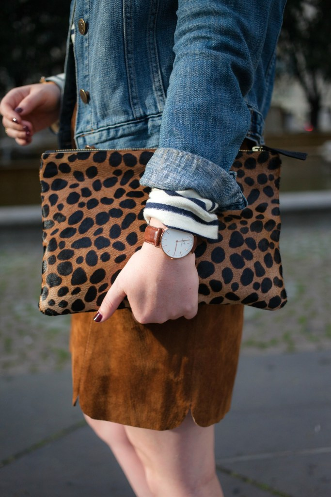 Leopard Clutch I @meghandono