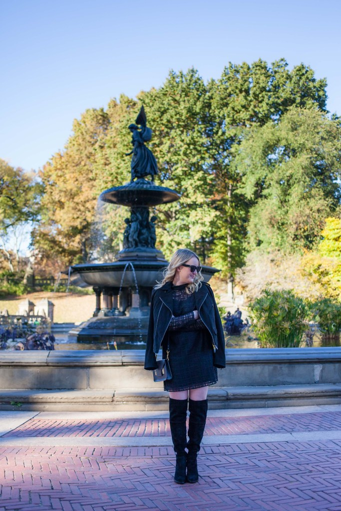 Vince Camuto Over The Knee Boots on Meghan Donovan of wit & whimsy