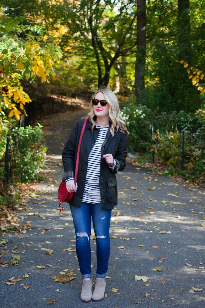 Easy Fall Outfit on Meghan Donovan