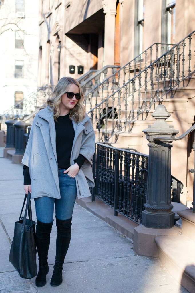 Styling a cape I wit & whimsy