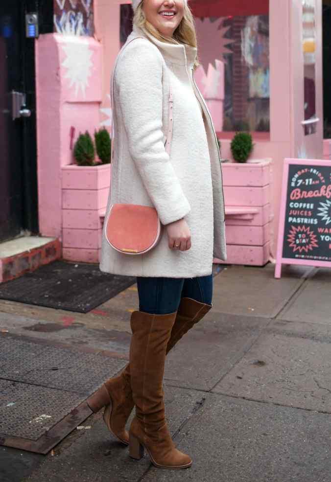 Pink Cuyana Bag