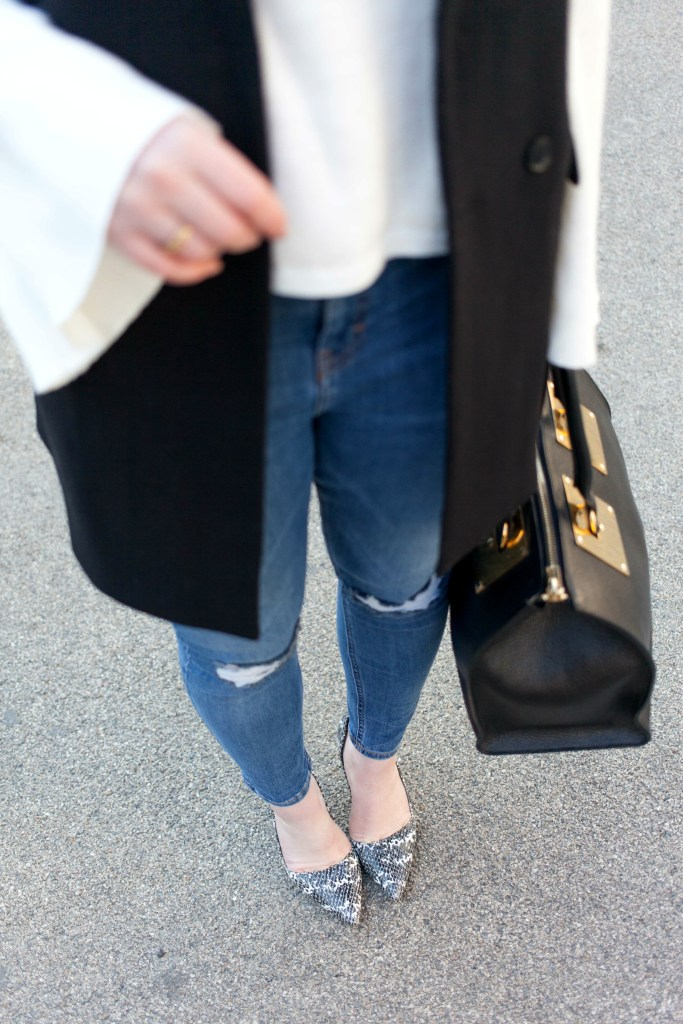 Ripped Jeans + Pumps I wit & whimsy
