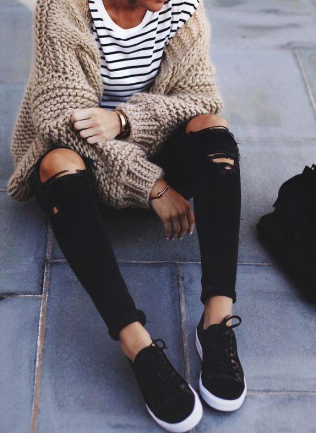 Stripes + Knit