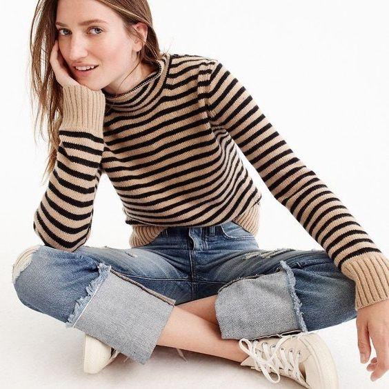 Striped Knit //