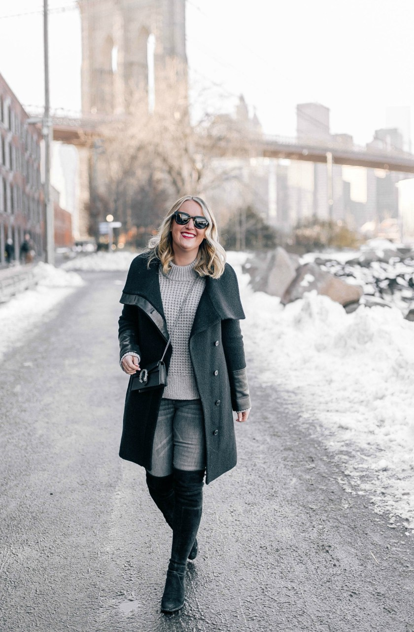 Neutral Winter Outfit I wit & whimsy