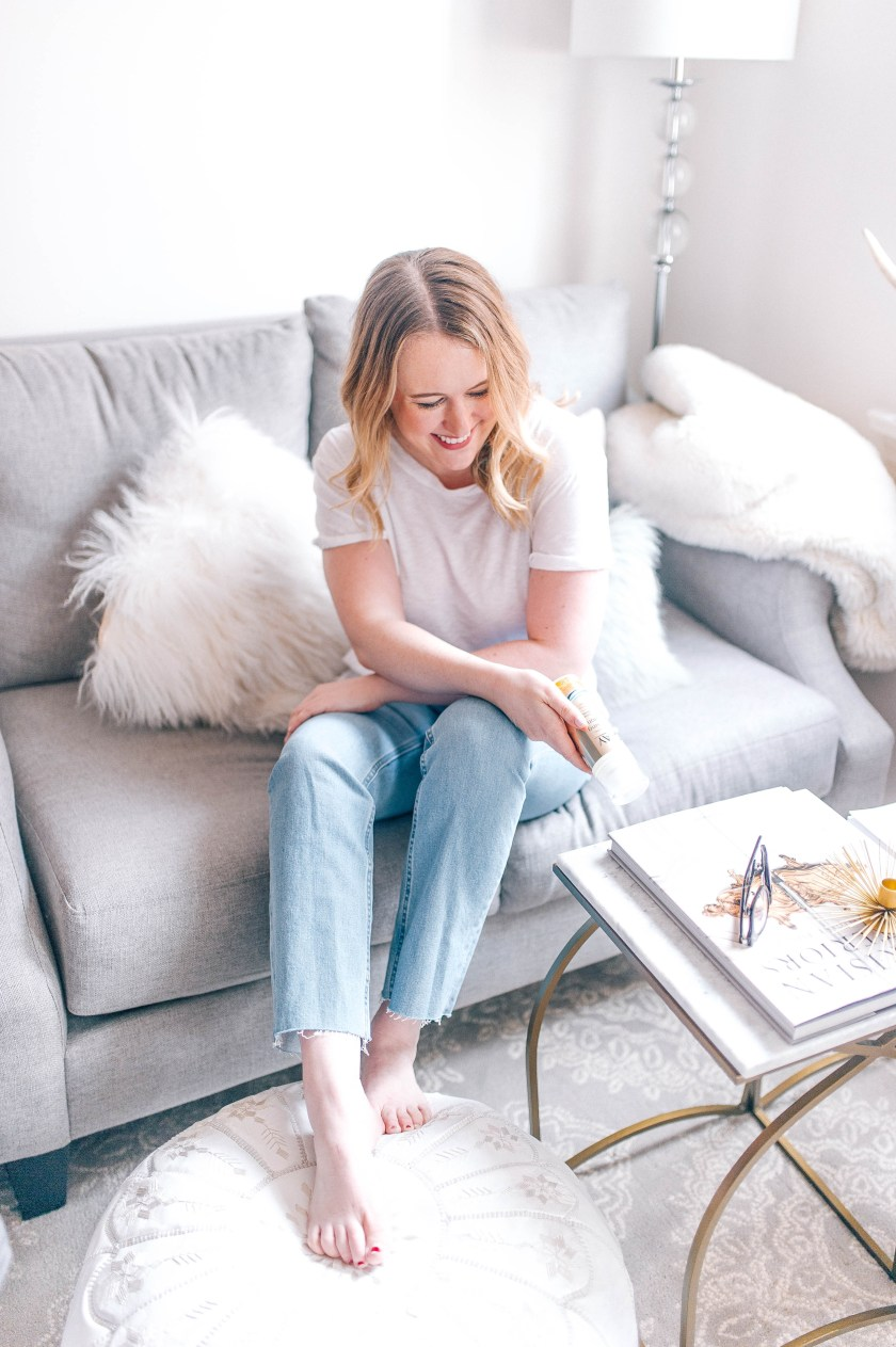 Meghan Donovan of wit & whimsy shares how she's Spring Cleaning her routines