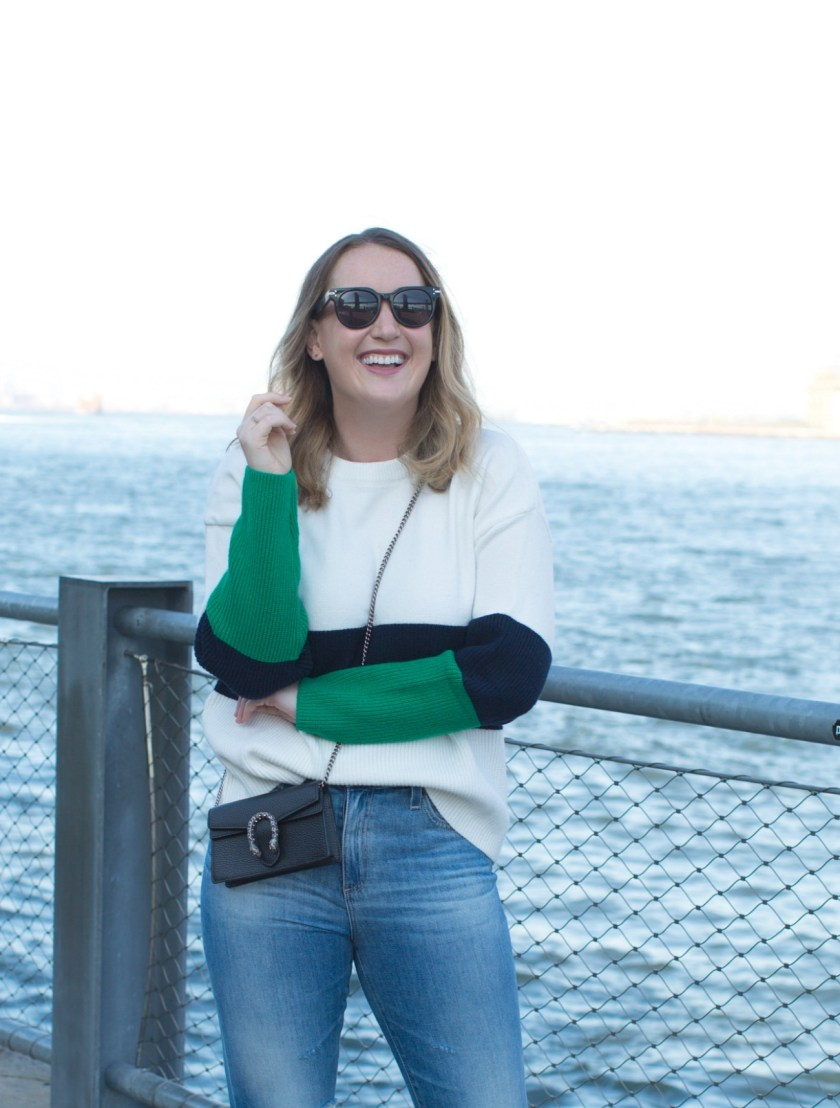 Colorblock Sweater I Fall Style on wit & whimsy's Meghan Donovan
