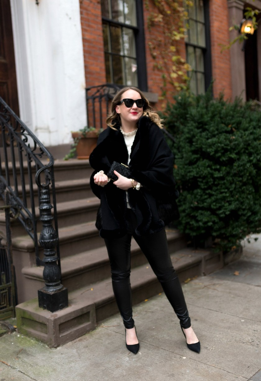 Faux Fur Wrap I wit & whimsy
