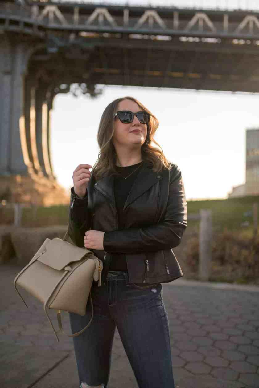Leather Jacket I wit & whimsy