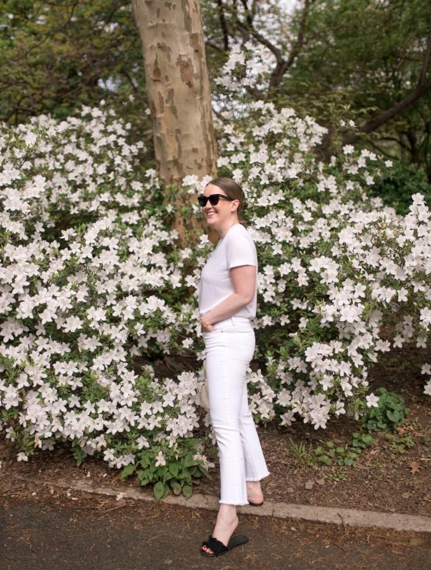White Tee I White Jeans I wit & whimsy