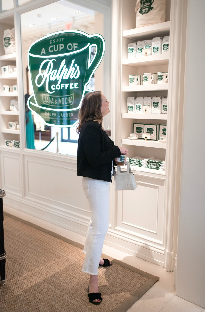 Ralph's Coffee NYC I wit & whimsy