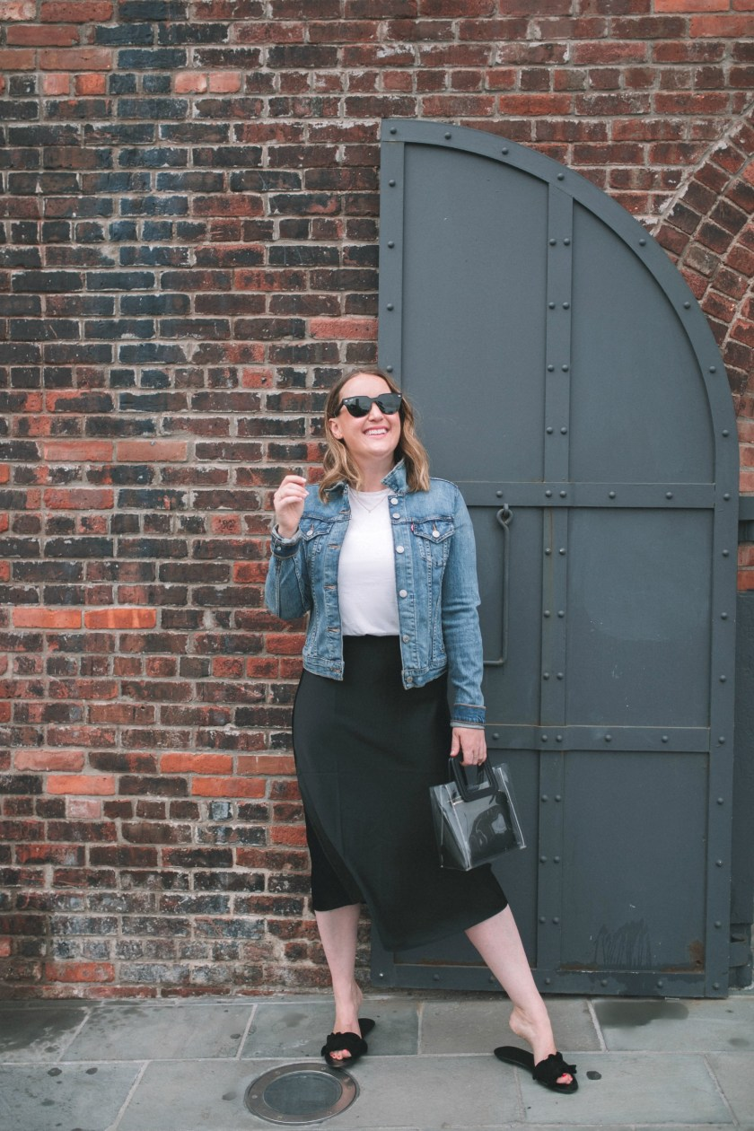 How to wear a Silk Midi Skirt I wit & whimsy