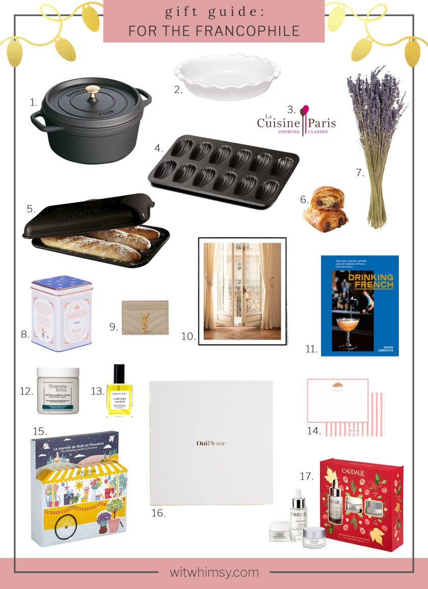 Gifts for The Francophiles I wit & whimsy
