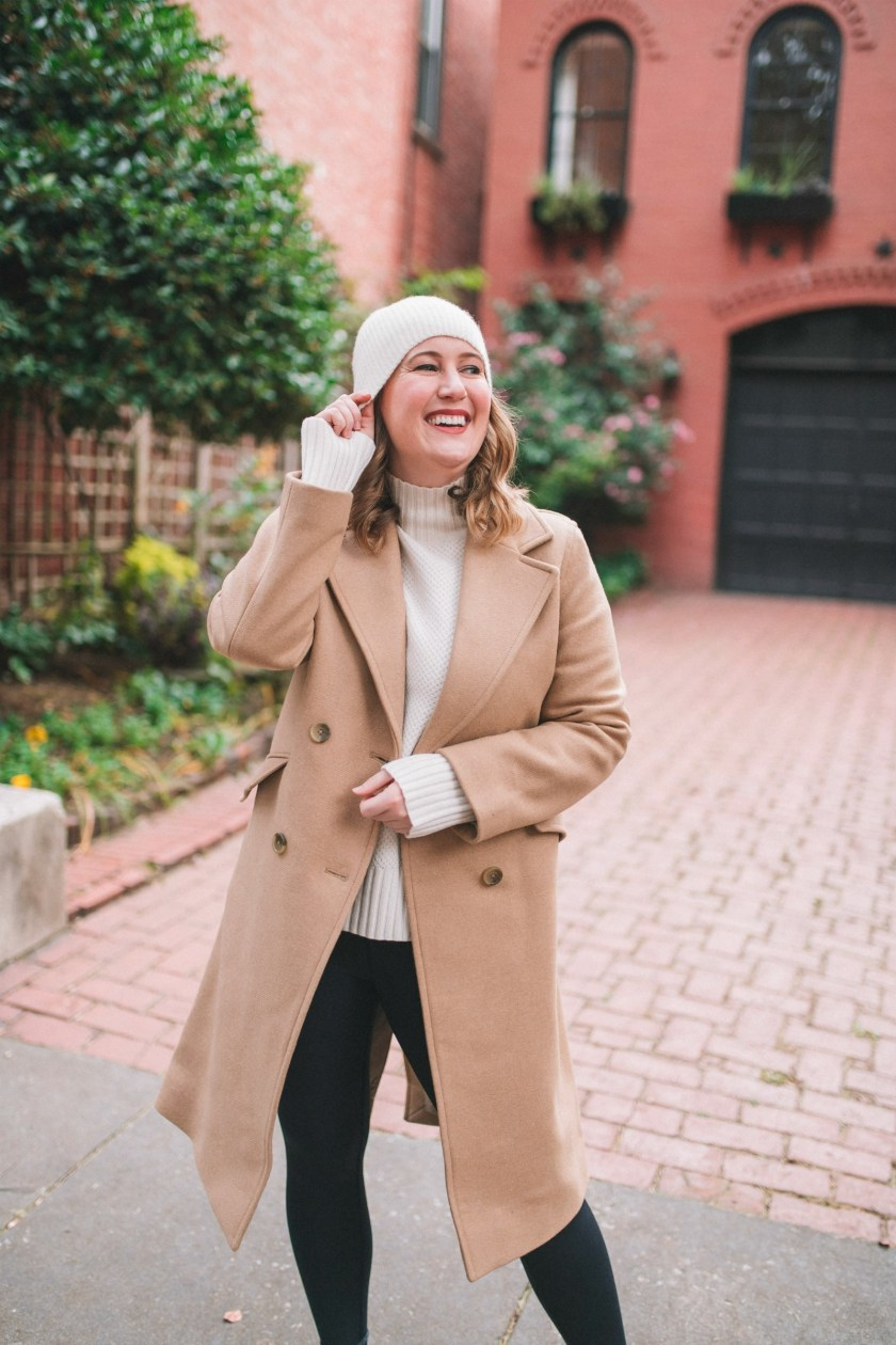 Everlane camel Over Coat I wit & whimsy