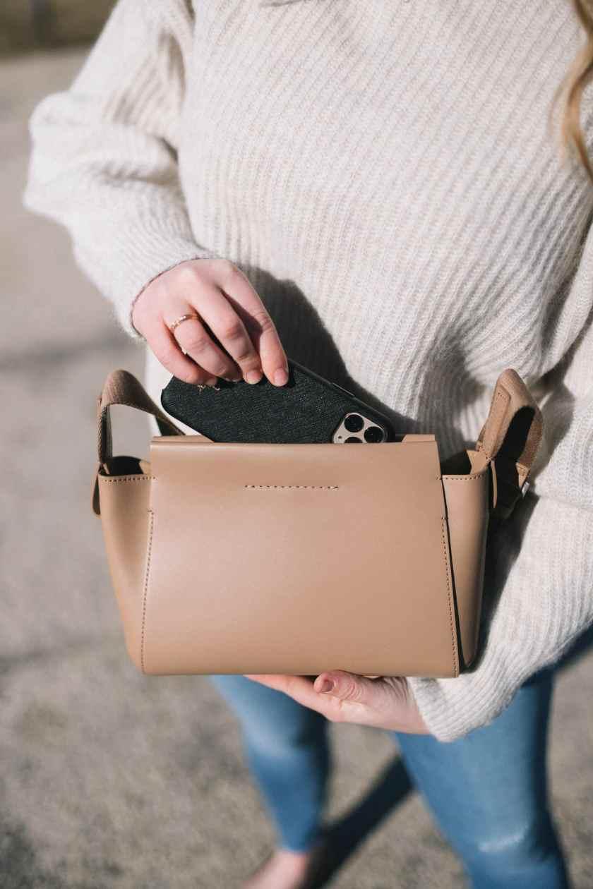 Everlane Mini Form Bag I wit & whimsy