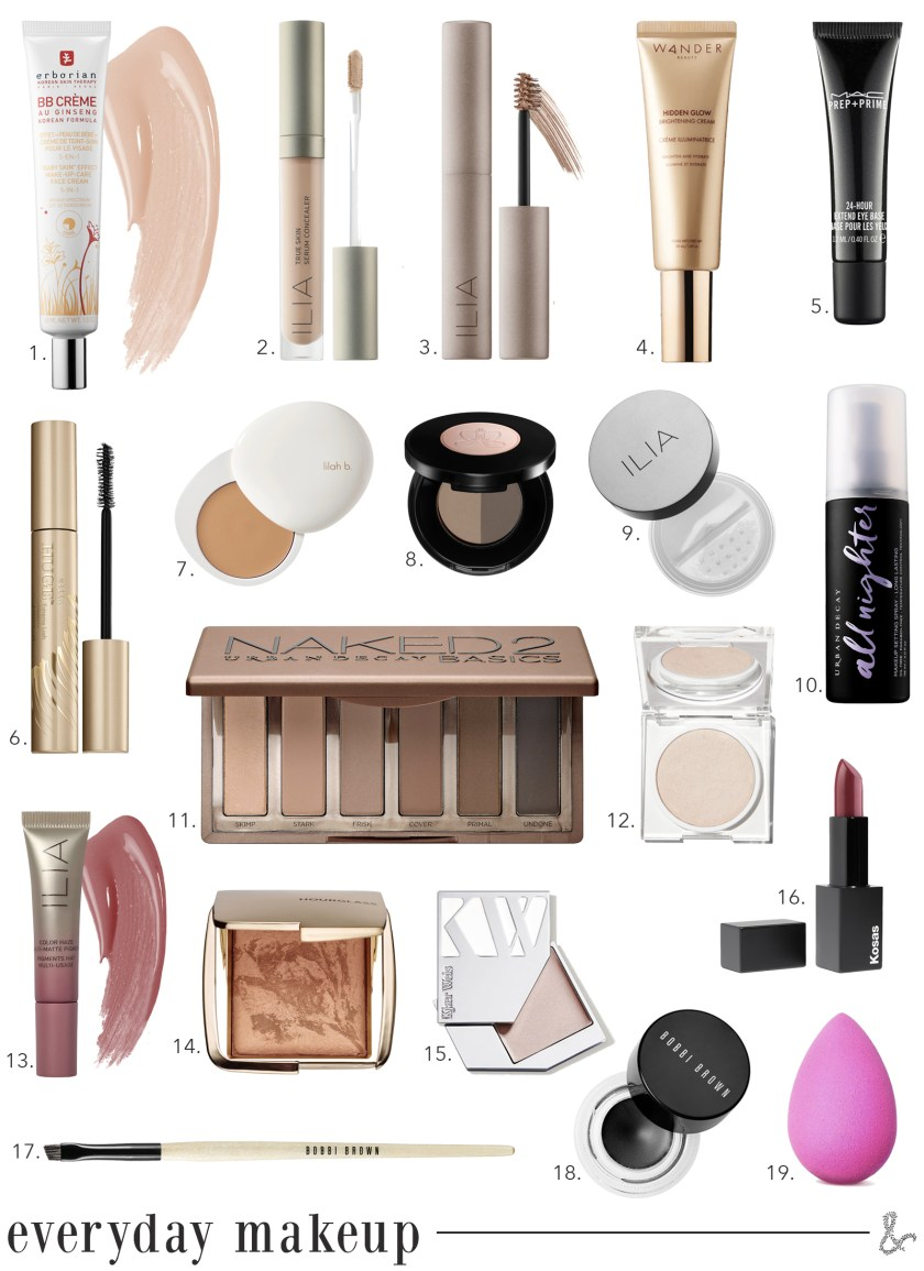Easy Every Day Makeup I wit & whimsy