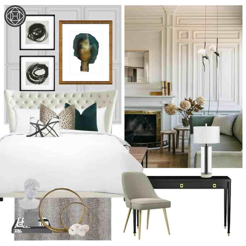 Parisian Inspired Apartment Design Concept