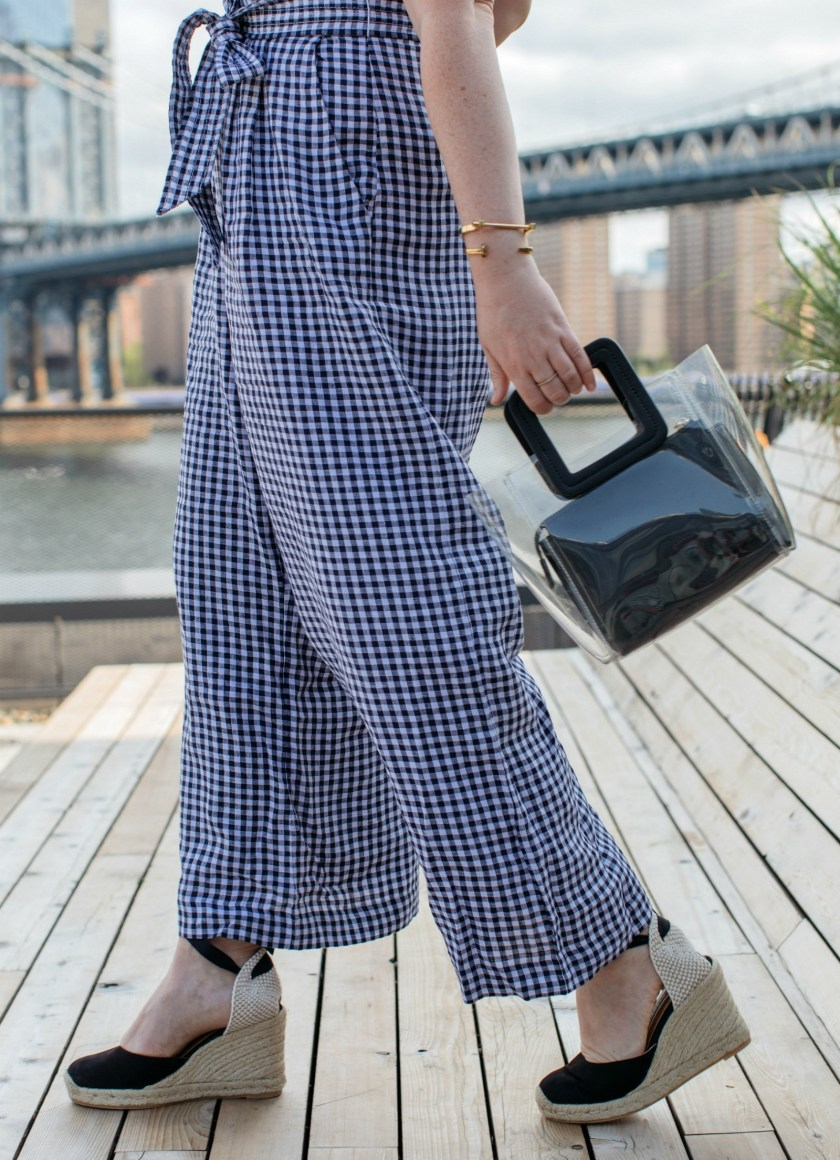 J.Crew Gingham Jumpsuit I wit & whimsy