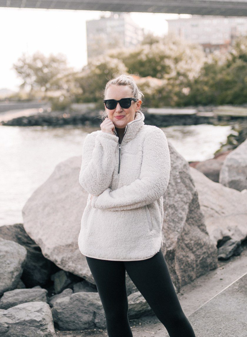 My Favorite Fleeces | Abercrombie Sherpa Pullover Fleece I wit & whimsy