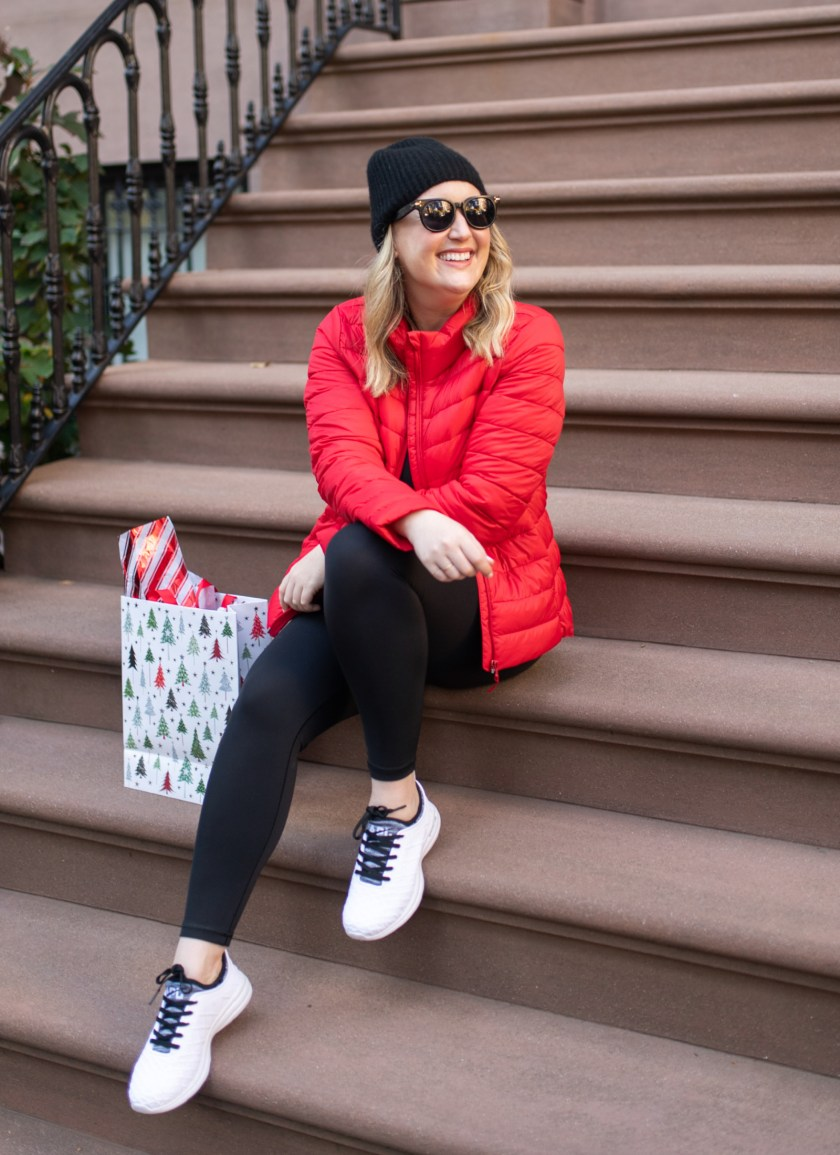 Old Navy Red Puffer Jacket I wit & whimsy
