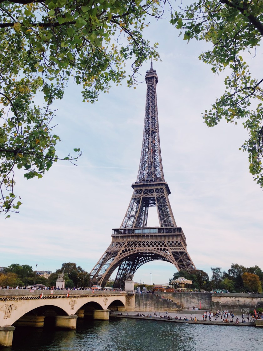 Best places to see the Eiffel Tower