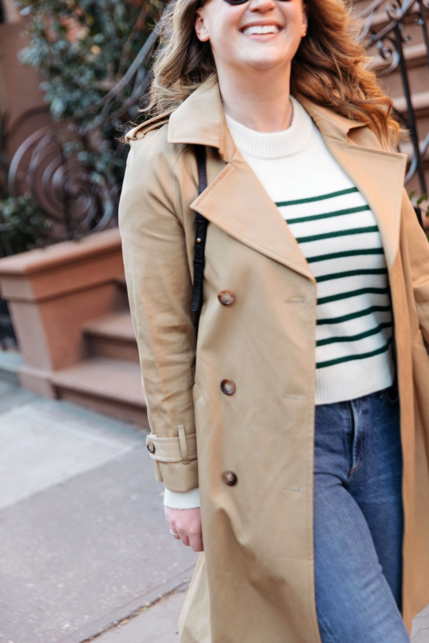 Sezane Trench Coat I wit & whimsy