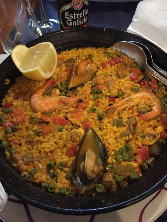 ...and paella!