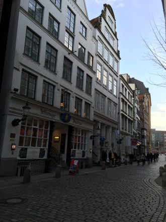 One of the oldest streets in Hamburg