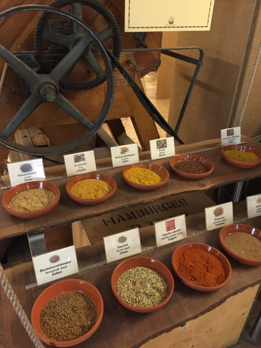 Spices from all over