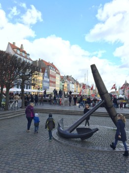 Entrance area to Nyhavn