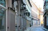 In Old Town Riga