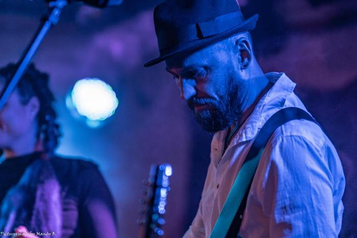 Sebo of Waiting in Vain at Club Eule in Dresden on 20 September 2019