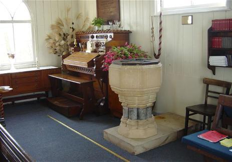 St. Luke's Church inside