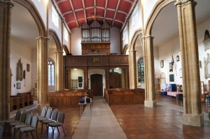 St. Andrews after the pews has been removed