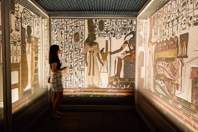 Por dentro da exposição sobre o Egito no CCBB