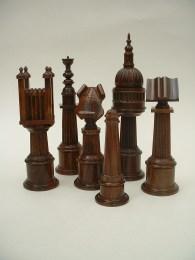 Paul Coker, City of London Chess set