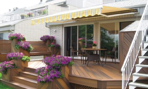 MONOBLOC 1440 Retractable awning