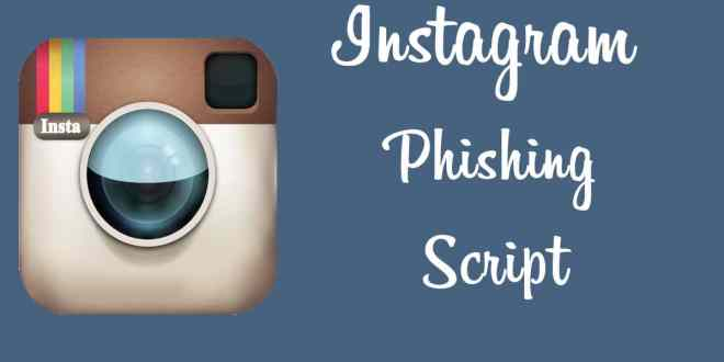 Hack Instagram Accounts With Instagram Phishing - Wizblogger
