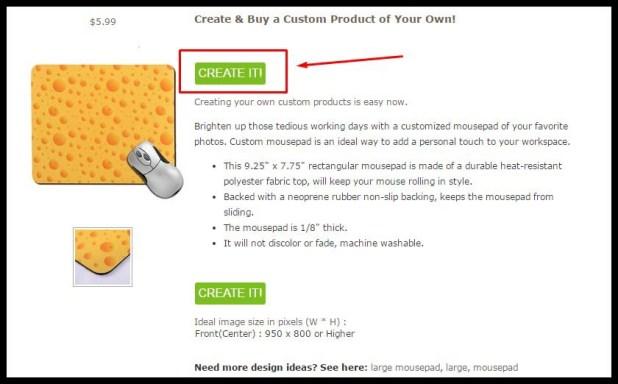 Custom Mousepad 2 wizblogger.com