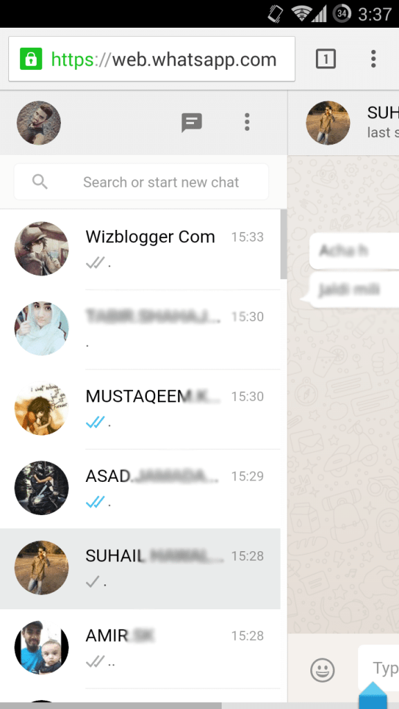 web whatsapp hack wizblogger 5
